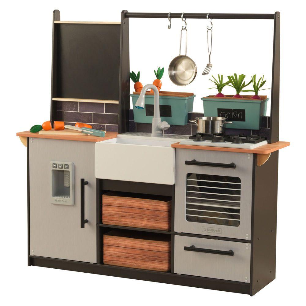 KidKraft Farm to Table Chef Pretend Play Kitchen Playset
