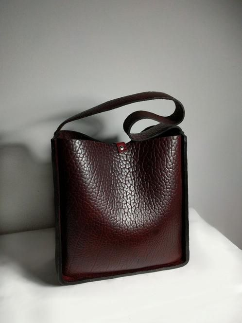 Elianai Marinel Bag Handmade Leather From Buffalo Hide Vancouver Bc Canada