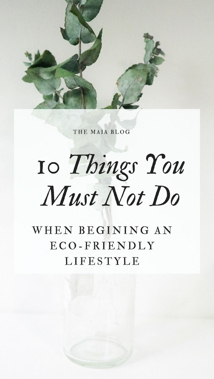 10 Dinge Die Man Nicht Tun Sollte 10 Things Not To Do When Starting An Eco Friendly Lifestyle Eco Life Environmentally Friendly Living Eco Friendly Cleaning Products
