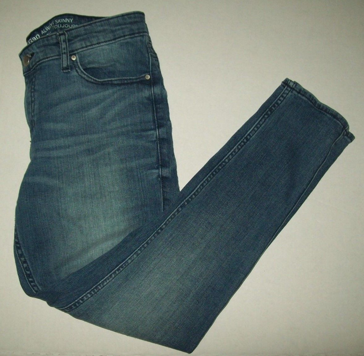 famous brand factory authentic brand new 31.99 | Gap Womens Jeans Size 10 Always Skinny Coupe ...