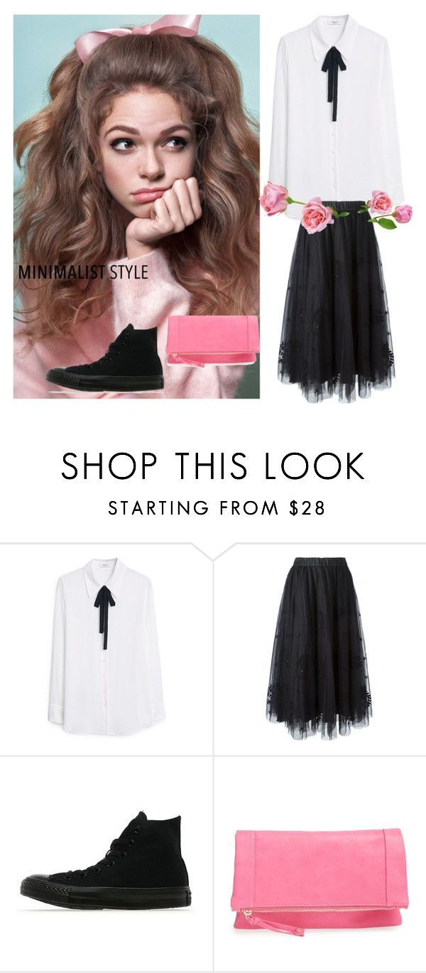 """""""Let's Be Free"""" by geekygal2003 ❤ liked on Polyvore featuring MANGO, P.A.R.O.S.H., Converse and Emperia"""