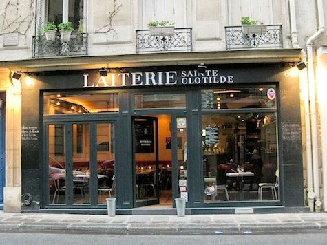 Paris Restaurant Facades