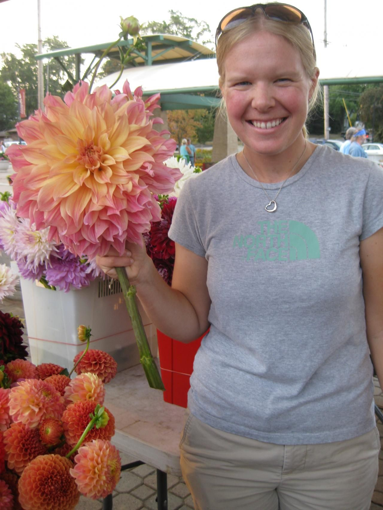 Farmers Markets Whimsical Wedding Flowers Floral Arrangements Wedding Dahlia