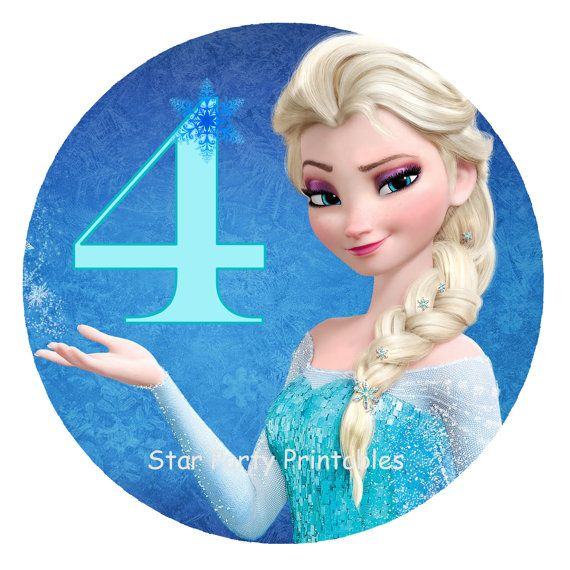 Instant Download Frozen Digital Image T By Starpartyprintables 3 50 Convite Aniversario Frozen Aniversario Frozen Decoracao Aniversario Frozen