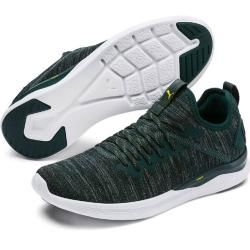 Photo of Puma Herren Fitnessschuhe Ignite Flash Evoknit, Größe 42 ½ In Ponderosa Pine-Puma Black-Blaz, Größe