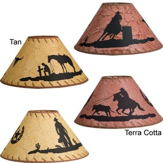 Western silhouette lamp shades for the home pinterest westerns western silhouette lamp shades aloadofball Image collections