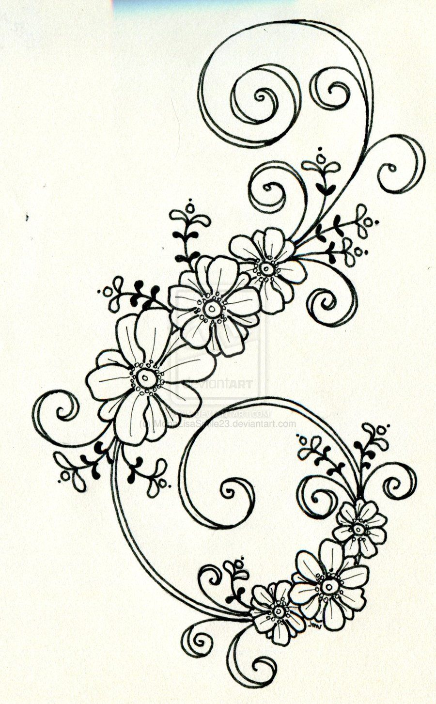 flower zentangle designs - Google Search | Sketches | Pinterest ...