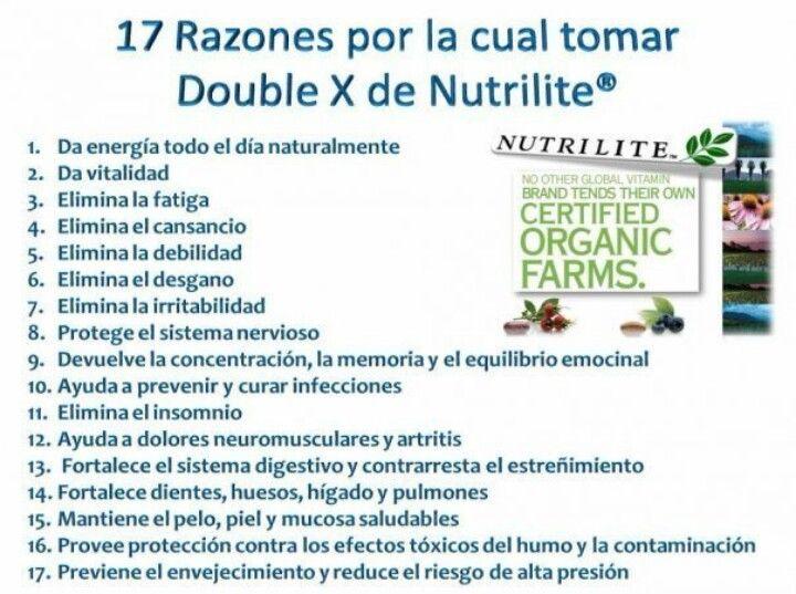 suplementos de nutrilite para ganar peso
