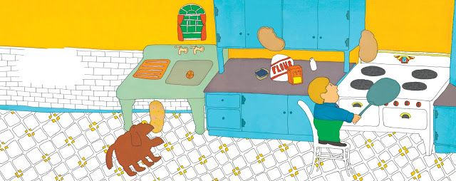 books4yourkids.com: The Pancake King by Phyllis LaFarge, pictures by Seymour Chwast