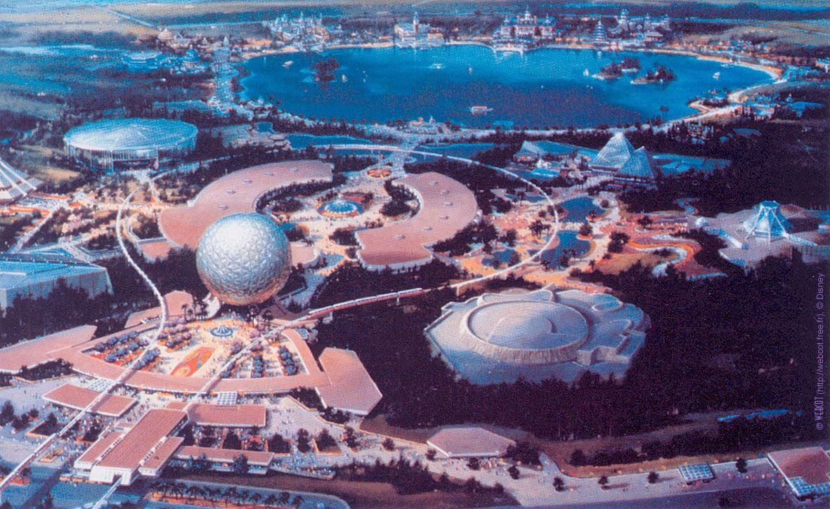 EPCOT Center, Walt Disney World Clem Hall & Bob Scifo