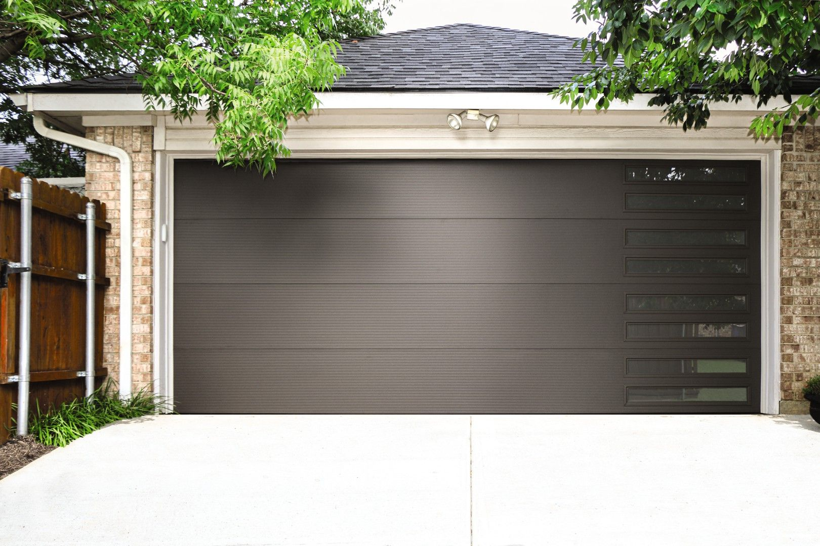 Our Sale Isn T Over Yet This Sleek Insulated Microgroove Garage Door Would Be The Perfect Addition To Yo Garage Doors Garage Door Insulation Garage Insulation