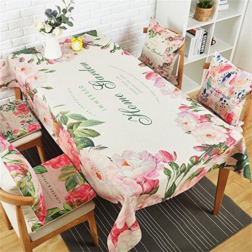 Alus Fresh Pastoral Cotton Cloth Tablecloths Living Room Dining Best Dining Room Tablecloths 2018