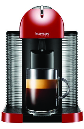 Nespresso Vertuoline Espresso Machine With Optional Aeroccino Plus