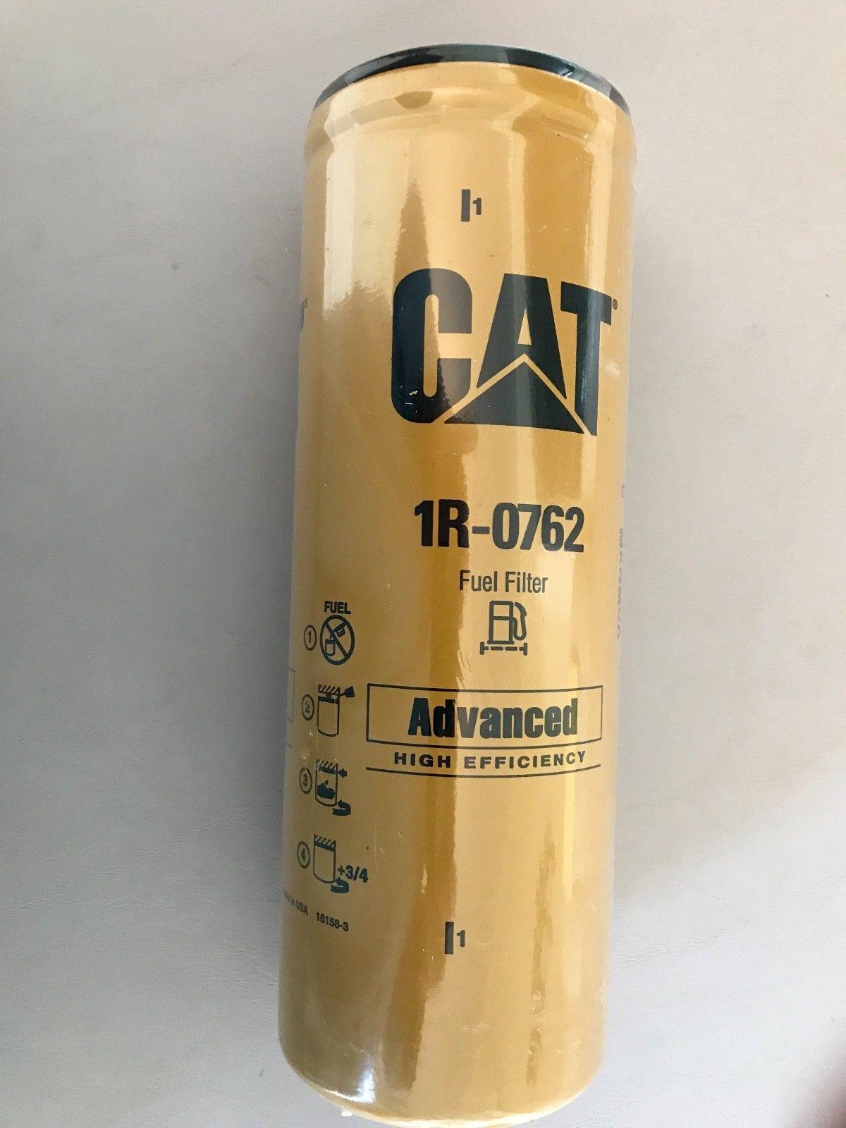 Available on Ebay #ebay 1R-0762 CAT Caterpillar Fuel Filter - New Sealed # caterpillar #heavyequipment #ebay #heavyequipment