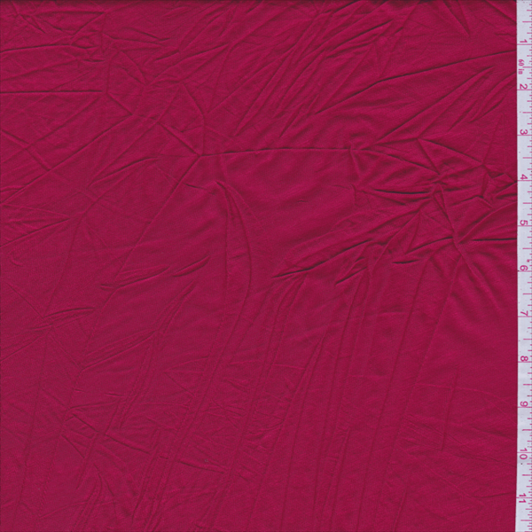 Cherry Red Jersey Knit - 29541 - Fabric By The Yard At Discount Prices