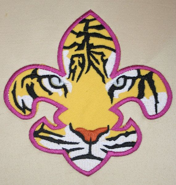 Lsu Tiger Flure Eye De Tattoo Lis