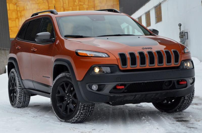 Essai Jeep Cherokee Trailhawk 2015 Au Prix D'un Grand V