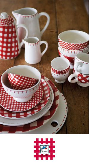 Crazy Adorable Dishes Red Dinnerware