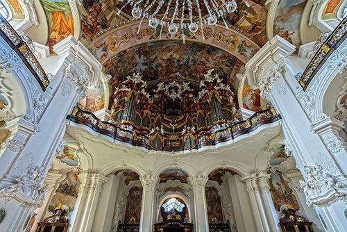 Krzeszów Kościół Barokowy Barokowy Architektura I Fotografia