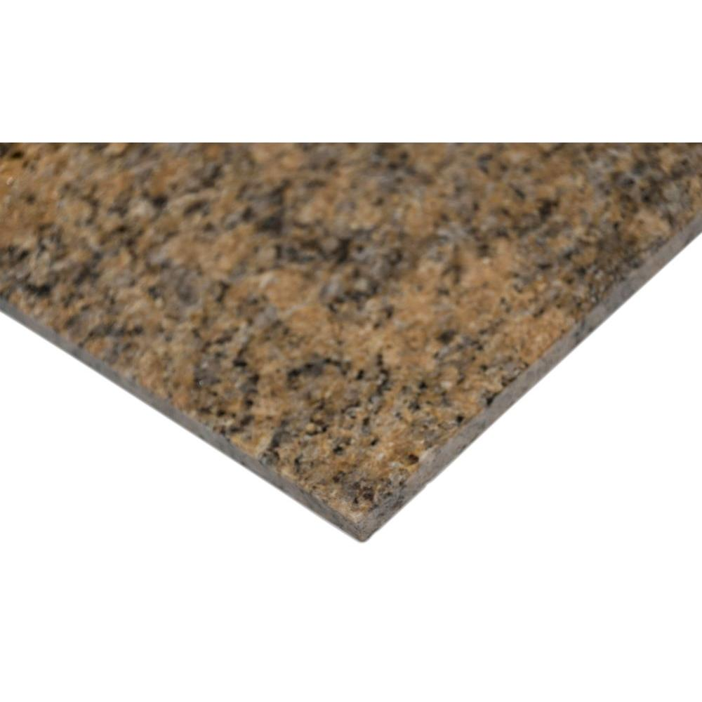 Msi Giallo Veneziano 12 In X 12 In Polished Granite Floor And Wall Tile 10 Sq Ft Case Tgiaven1212 The Home Depot Granite Flooring Floor And Wall Tile Wall Tiles