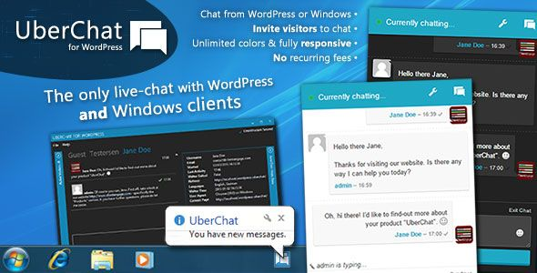 Uber Chat v2.2.1  Ultimate Live Chat with Windows Client