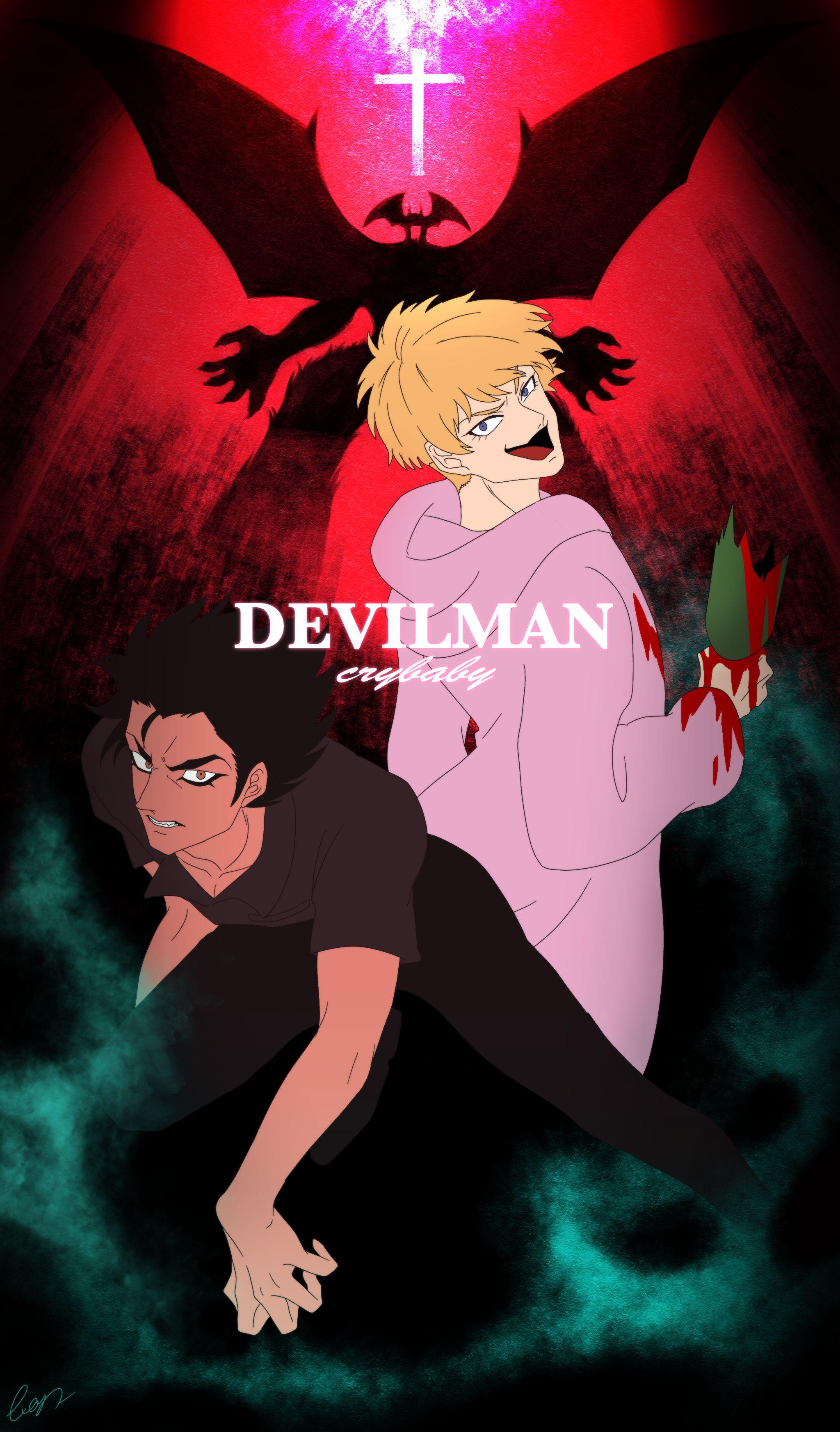 Devilman Crybaby Ryo Asuka Akira Fudo Devilman Crybaby Anime Cry Baby