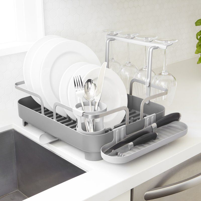Holster Acrylic Countertop Dish Rack With Images Dish Racks