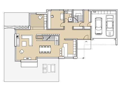 Mit Einem Kubischen Haus Mit Satteldach Gelang Dem Bauherrn Andreas Neuer  Der Spagat Zwischen Modernem Wohnhaus Und örtlicher Bautradition.