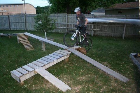 Image Result For How To Make A Mountain Bike Obstacle