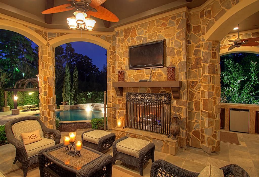 Outdoor living space is quickly becoming one of the most ... on Attached Outdoor Living Spaces id=45554
