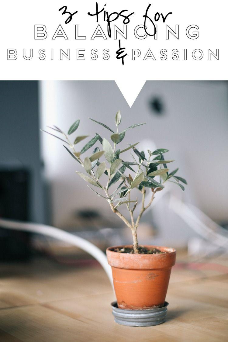 3 Tips For Balancing Business & Passion — The Alisha Nicole