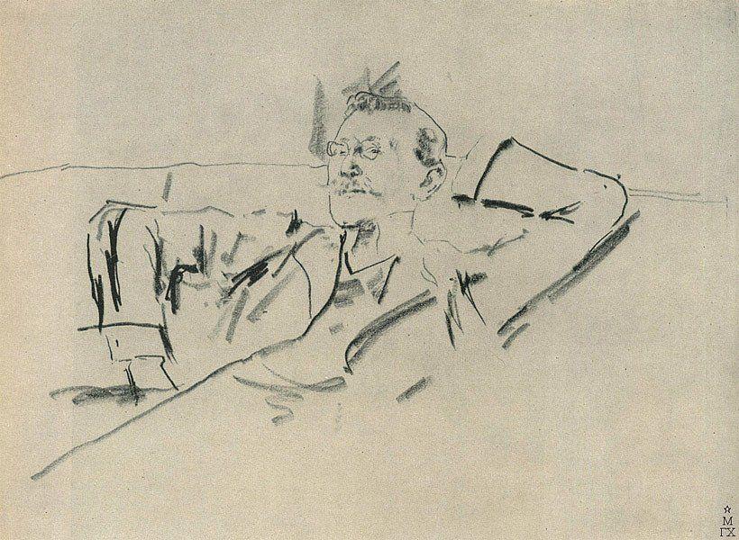 Lev Bakst portrait