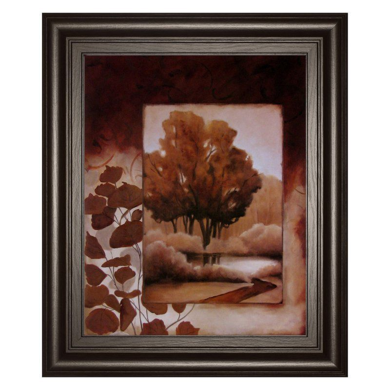 Classy Art Fall Vignette I Framed Wall Art - 22W x 26H in. - 4693
