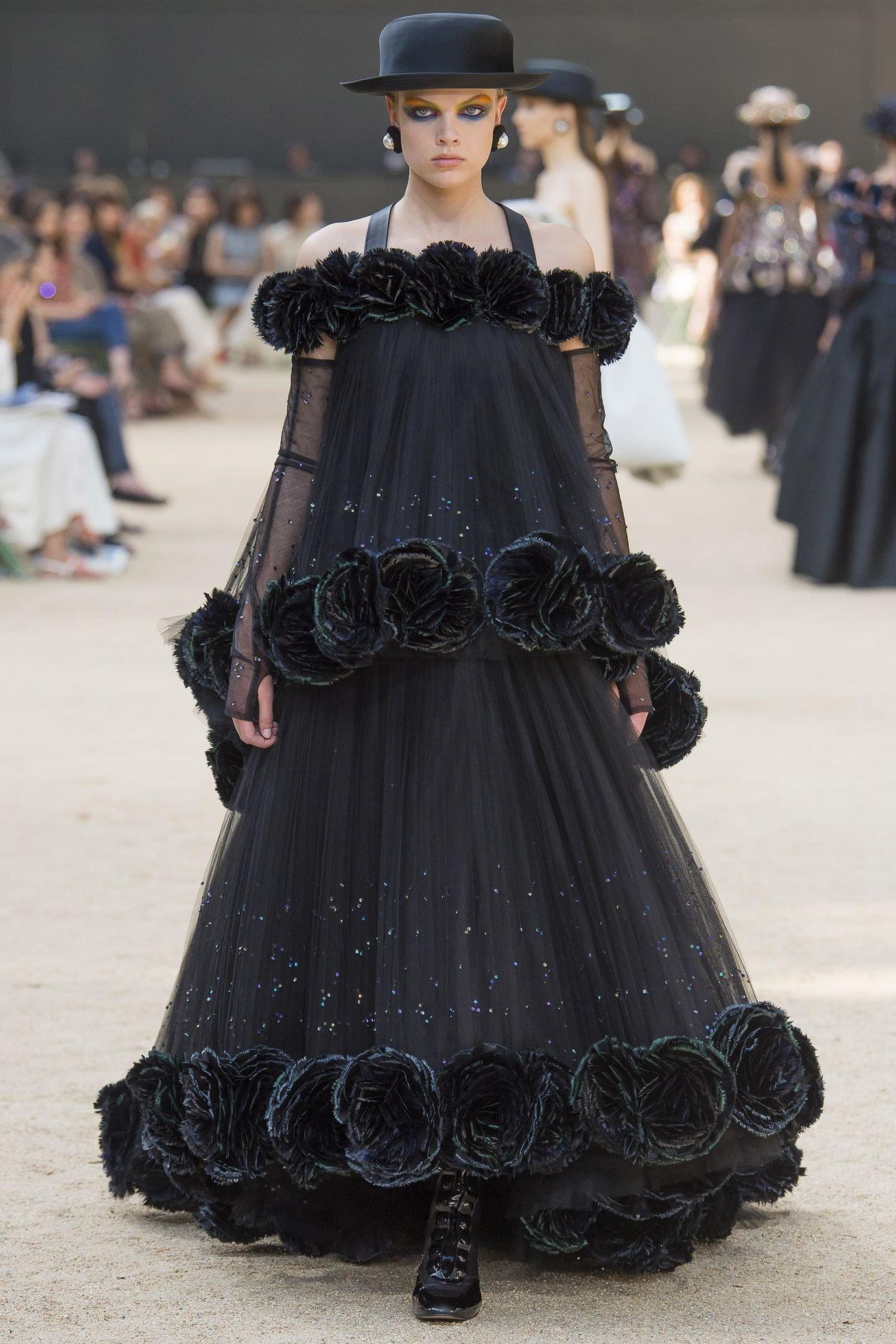 Défilé chanel haute couture automnehiver wedding