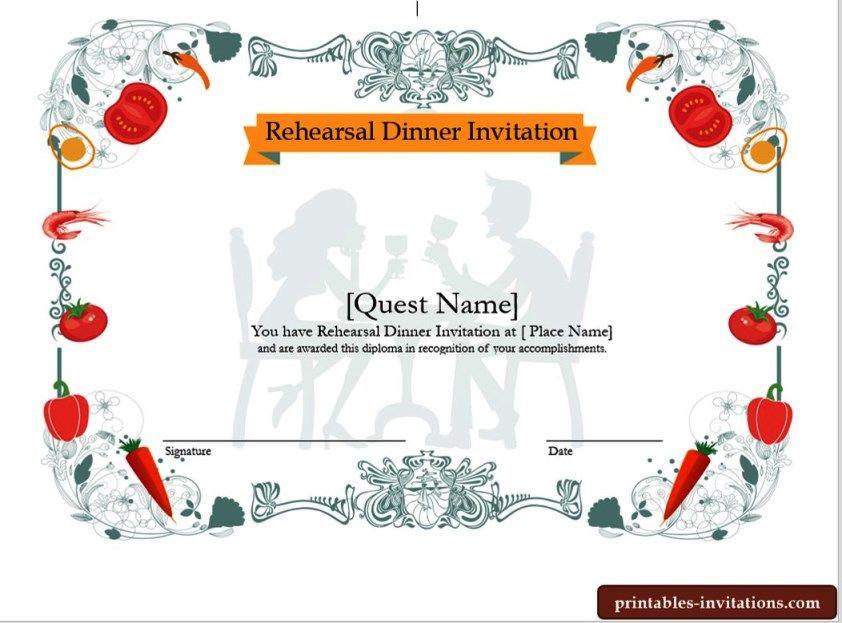 Quick rehearsal dinner invitation,wedding rehearsal dinner - best of invitation name designs
