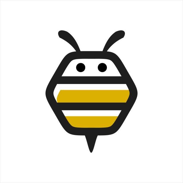 Symbol Icon Illustration Hexagon Honey Logo Natural Vector Bee Sign Design Honeycomb Food Element Organic Sweet Hive Healthy Graph Honey Logo Logo Bee Bee Icon