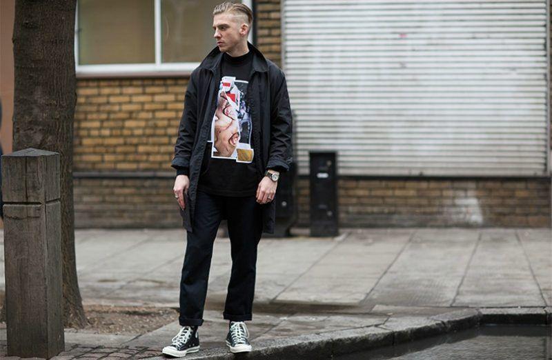 Inmuebles recoger robo  Image result for crisp black jeans men | White high top converse, Black and white  converse, Skinny jeans men