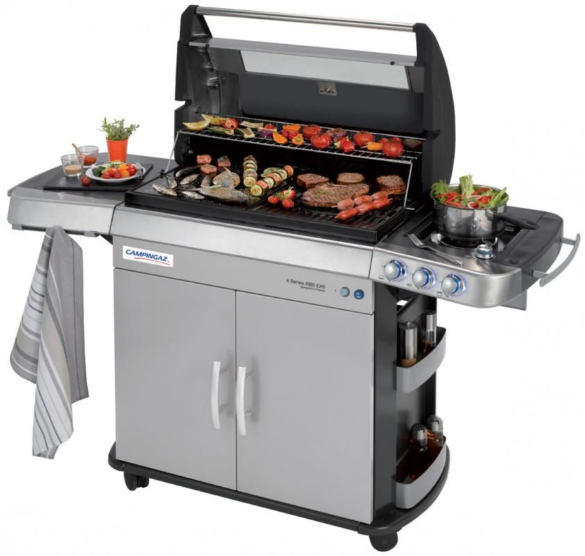 Campingaz 4 Series Rbs Exs Barbecue Gas 674 23 Instead Of 898 98 Expires 04 30 2014 Cleaning Bbq Grill Gas Grill Gas Bbq