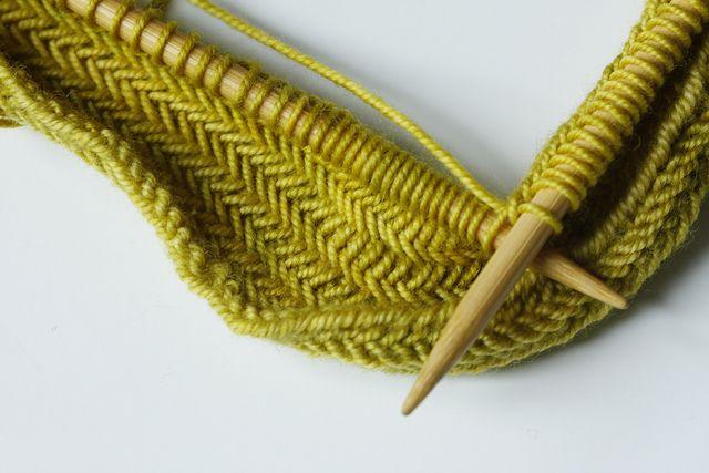 herringbone stitch  -
