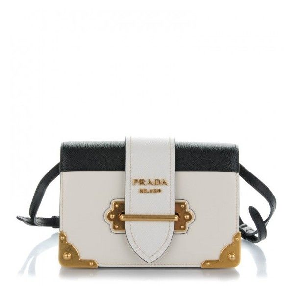 official store prada monochrome logo top handle leather handbag prada city  calf saffiano cahier bag talco 237faee4c51b8