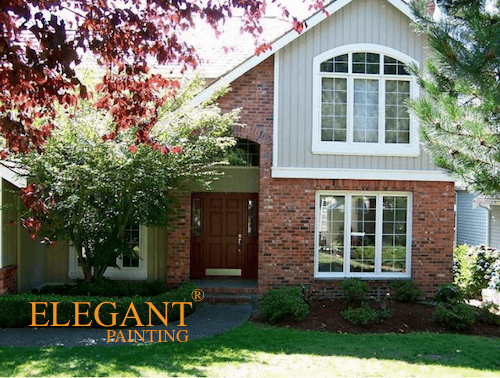 There Are Two Ways Of Looking At Exterior Paint Colors That Go With Red Brick Either Somewhat Match The Or Shoot For Maximum Contrast