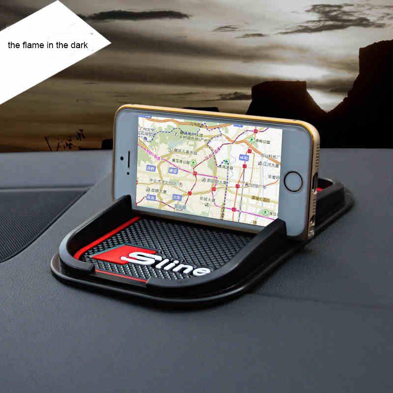 Free Shipping Car Mat Cellphone Holder Car Cellphone Mat For Audi