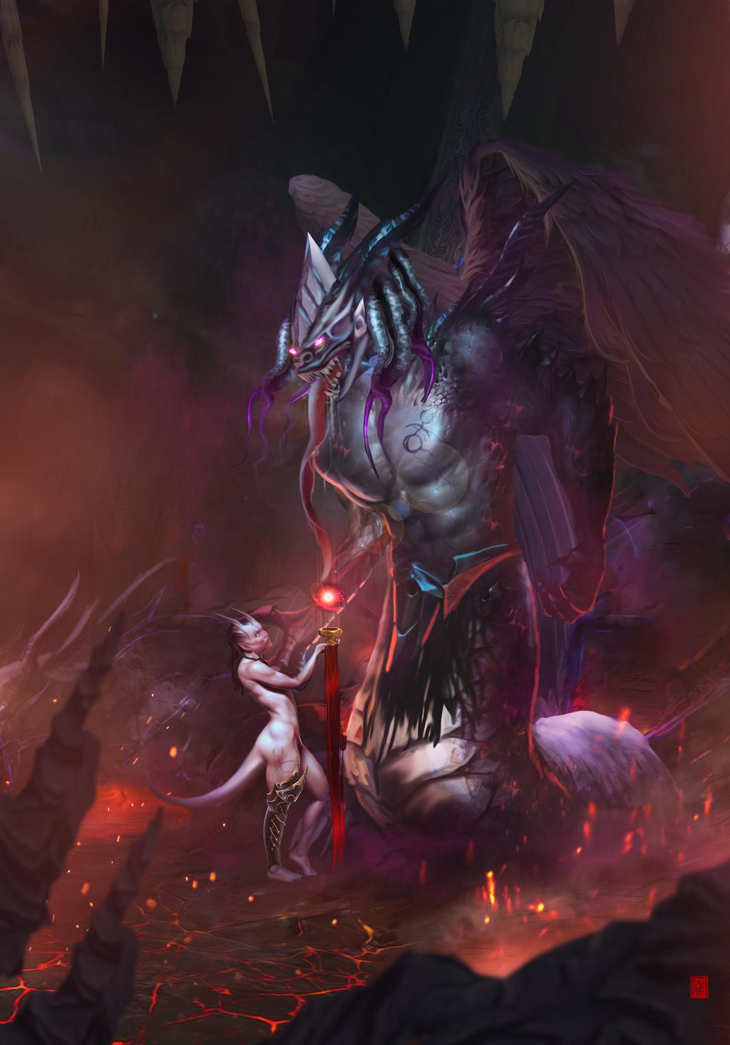 Daemonprince Of Slaanesh By Slaaneshg Warhammer Warhammer