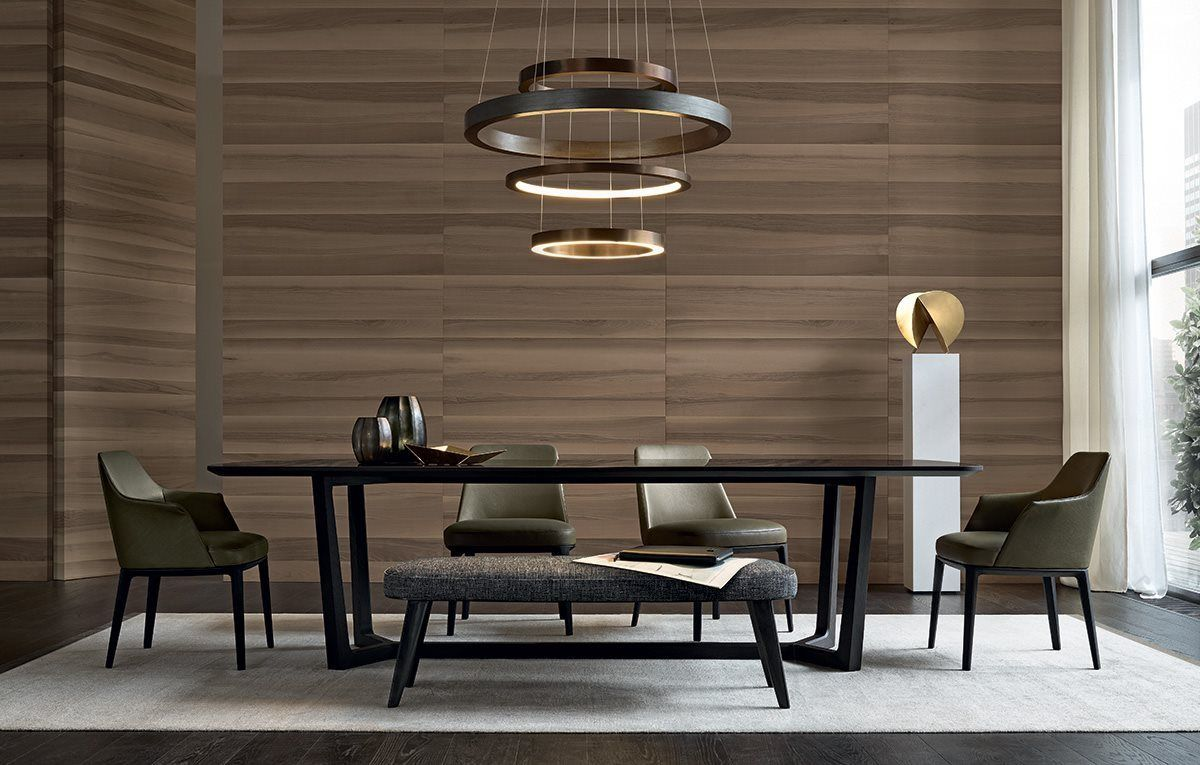 Tavolo Poliform ~ Table extensible en bois gill by poliform design roberto barbieri