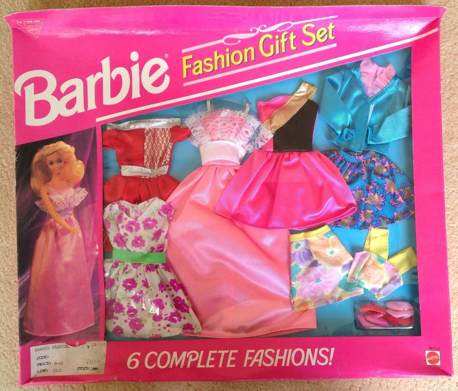 RARE Barbie FASHION GIFT SET 1993 by Mattel New in Box