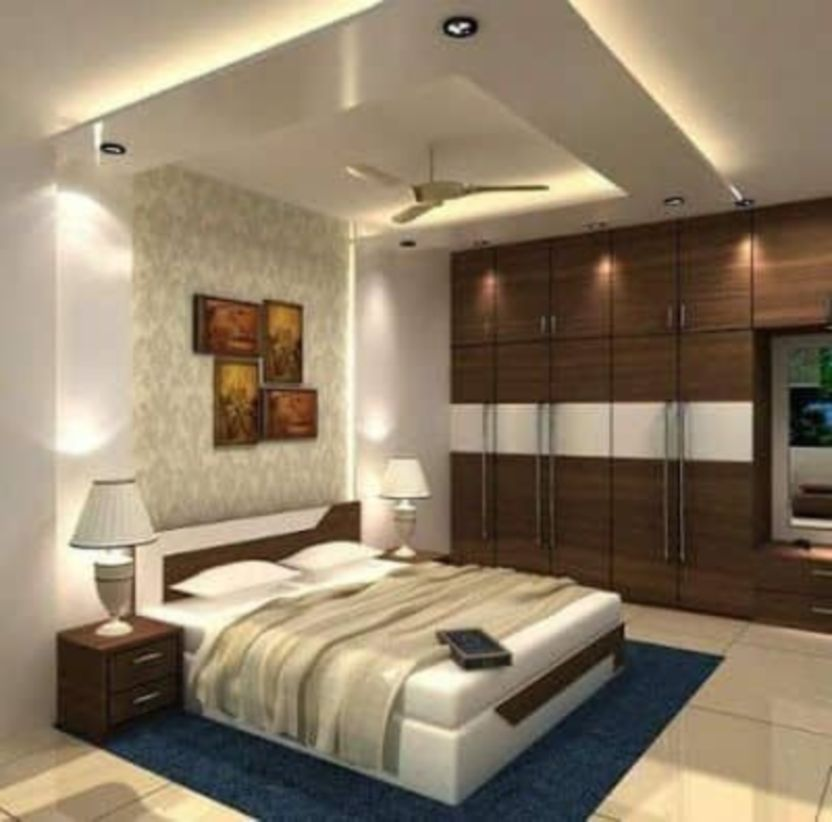58 Ceiling Design In Your Bedroom With Images Modern Bedroom Interior Bedroom False Ceiling Design Ceiling Design Bedroom