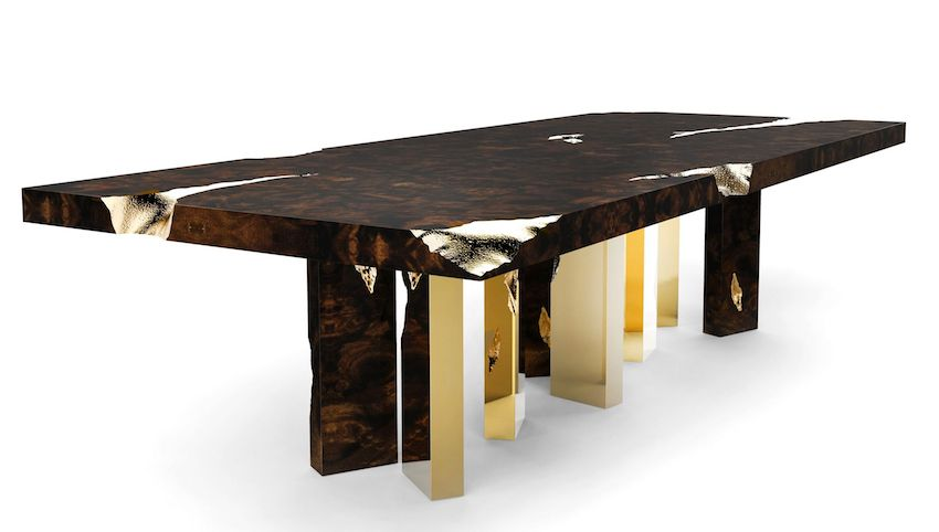 7 Wonderful Modern Dining Tables By Boca Do Lobo That You Will Love Modern Dining Table Glamourous Dining Room Exclusive Furniture