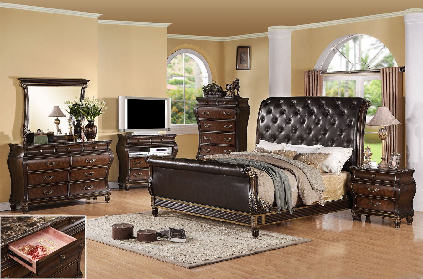 bombay brown by generation trade dallas furniture outlet 2050 2540 w king - King Bedroom Sets Dallas