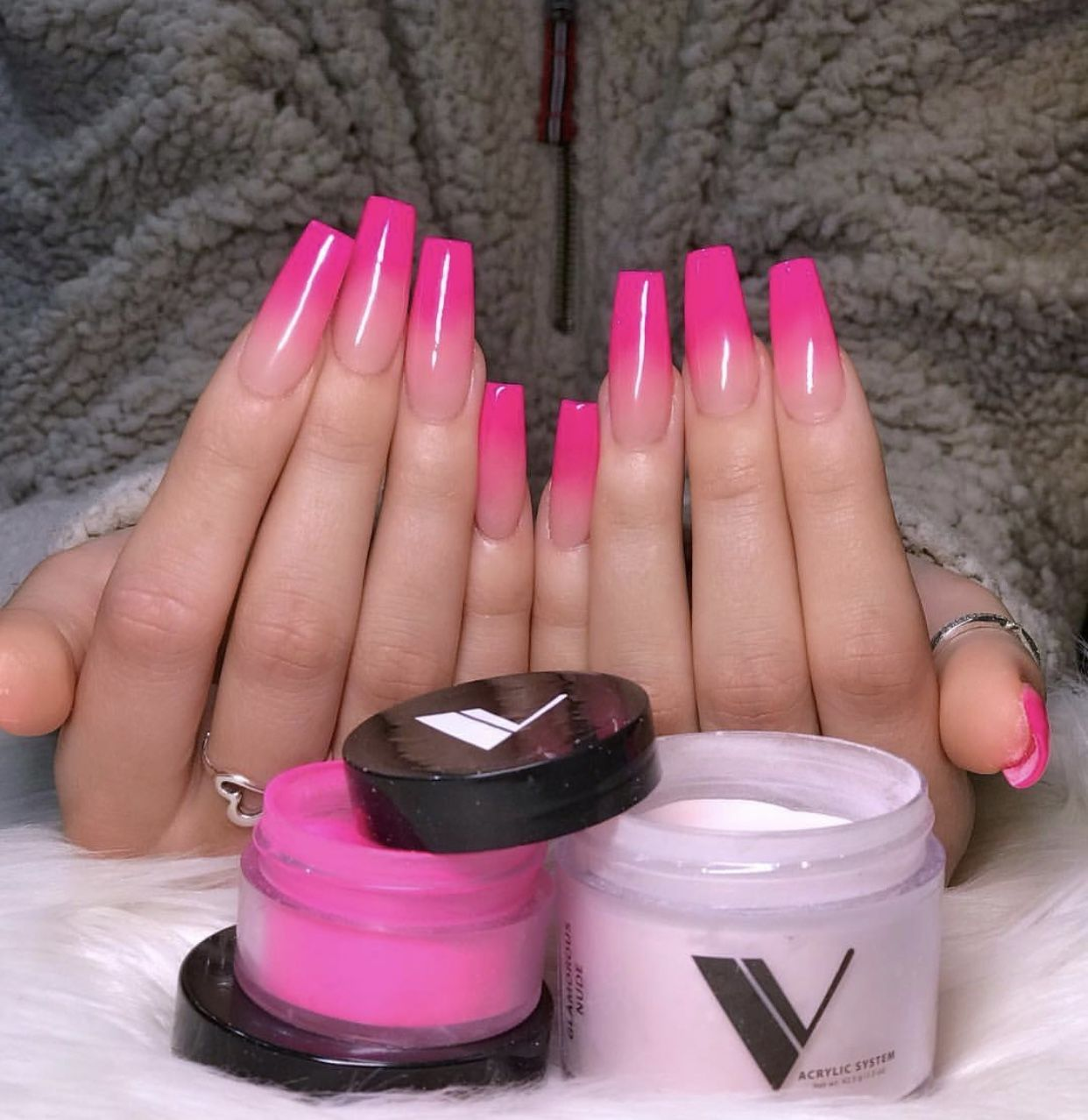 Pin By Nina Marie On Beauty Pink Tip Nails Pink Ombre Nails Ombre Nails