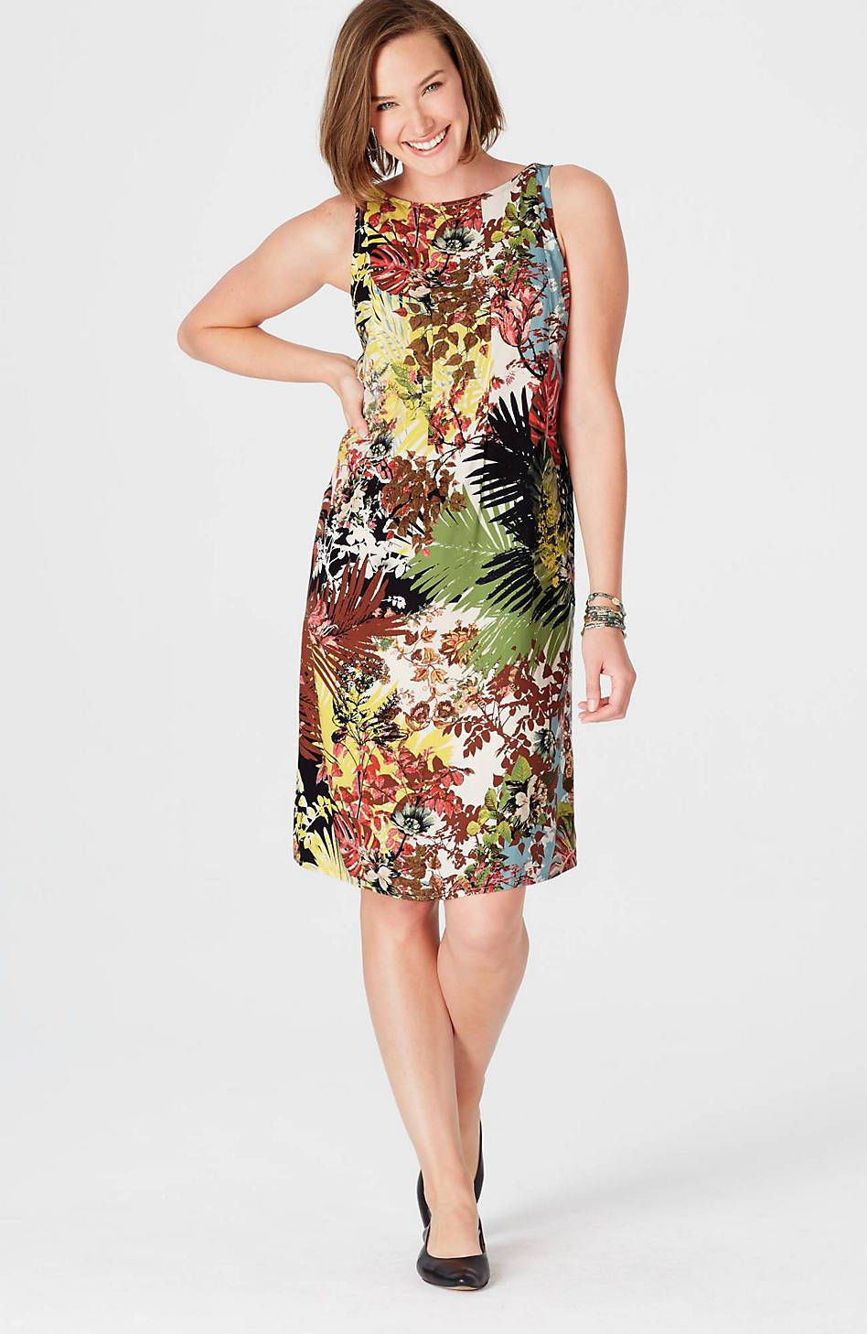 Dresses For Women J Jill Pleated Dress Everyday Dresses Dresses [ 1458 x 948 Pixel ]
